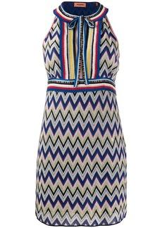 Missoni zigzag-knit mini dress