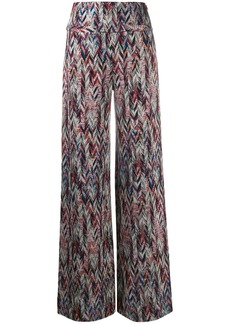 Missoni zigzag pattern knitted leggings
