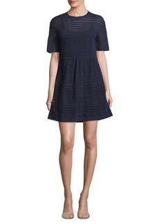 Missoni Zigzag Striped A-Line Dress