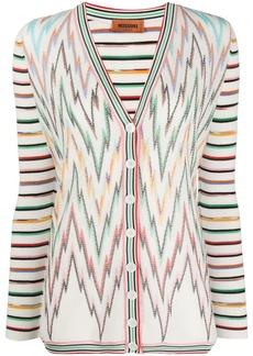 Missoni zigzag striped cardigan