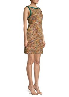 Missoni Zip Zag Rainbow Shift Dress