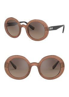 Miu Miu 48mm Oversized Sunglasses