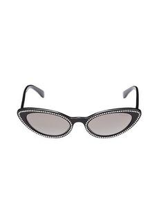 Miu Miu 53MM Cat Eye Sunglasses