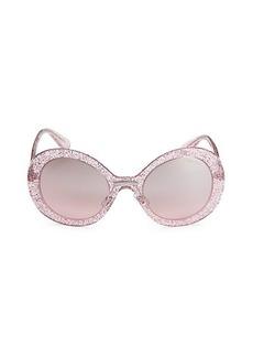 Miu Miu 53MM Round Sunglasses