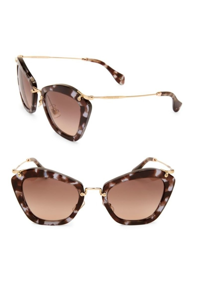 b6c3bcc357fd Miu Miu 55MM Modified Cat s-Eye Sunglasses