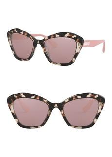 Miu Miu 55mm Oversized Sunglasses