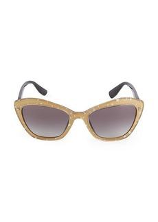 Miu Miu 55MM Star Cat Eye Sunglasses
