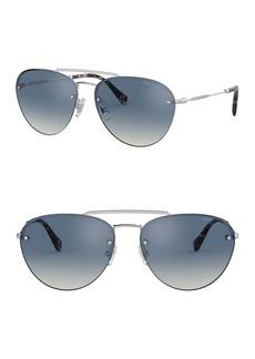 Miu Miu 59mm Oversized Sunglasses