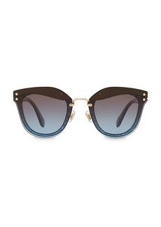 Miu Miu 65MM Oval Sunglasses