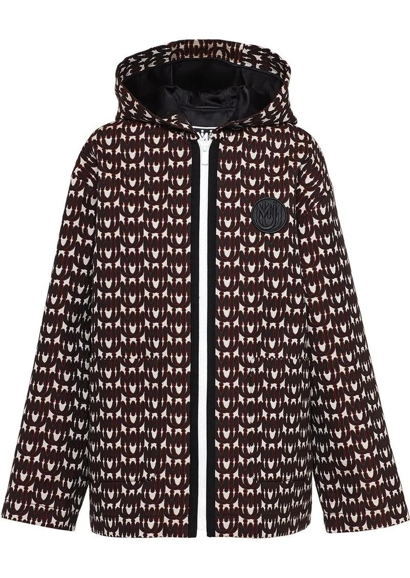 Miu Miu all-over logo jacket