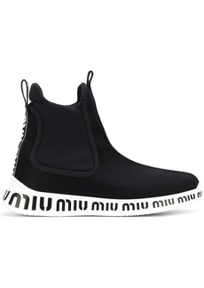 Miu Miu ankle sock sneakers