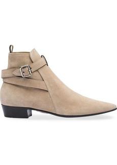 Miu Miu ankle strap boots