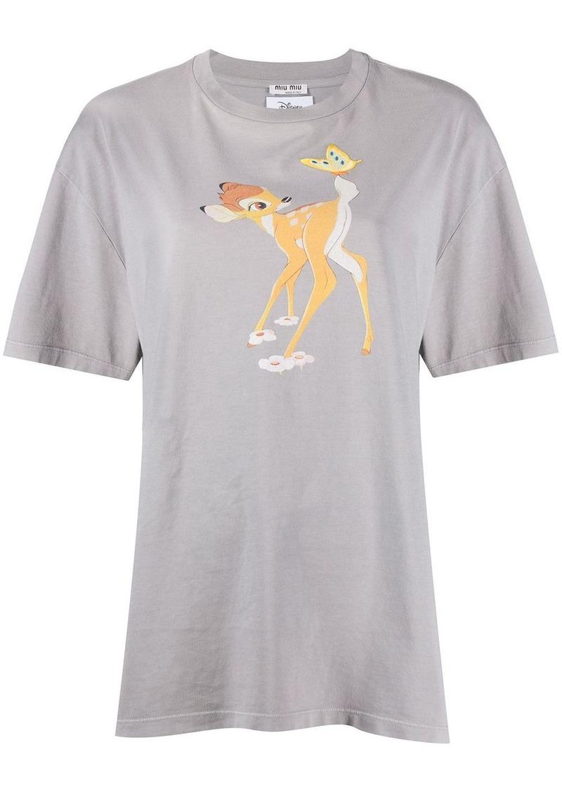 Miu Miu bambi T-shirt