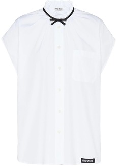 Miu Miu bow detail blouse