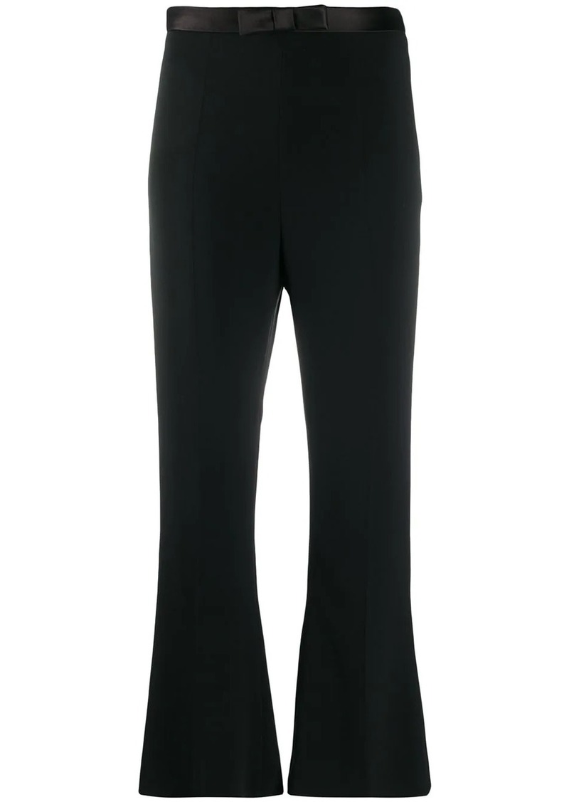 Miu Miu bow detail cropped trousers