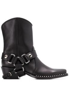 Miu Miu buckled cowboy boots