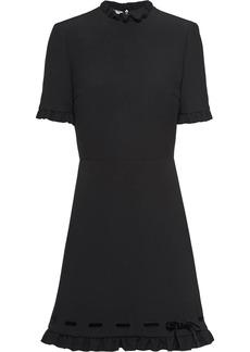 Miu Miu Cady and velvet dress