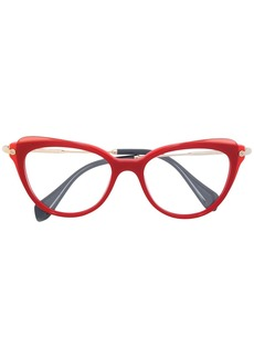 Miu Miu cat eye glasses