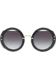 5788f143ccdc Miu Miu 52MM Semi-Rimless Acetate   Metal Square Sunglasses Now  168.00