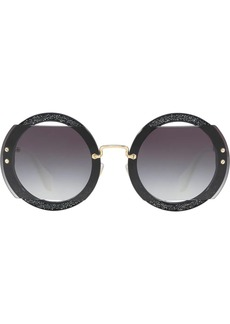 Miu Miu circle sunglasses