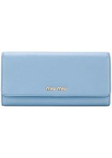Miu Miu classic continental wallet