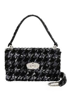 Miu Miu Cleo Boucle Top-Handle Shoulder Bag