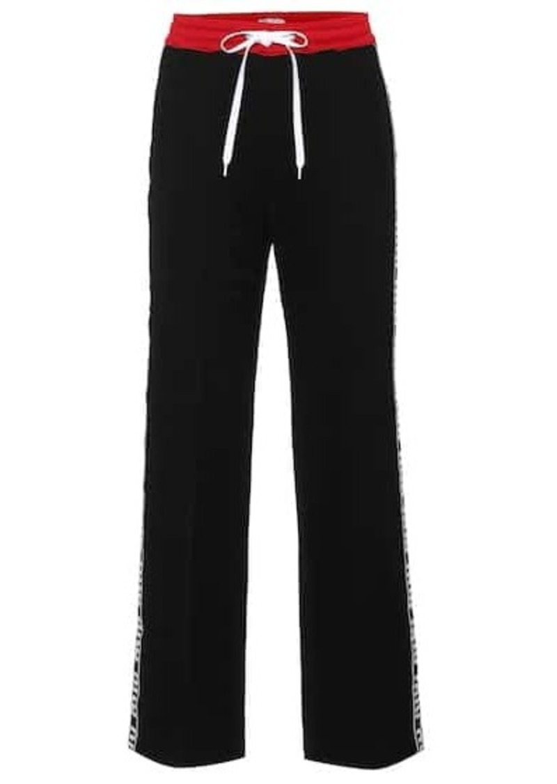 Miu Miu Cotton-blend trackpants