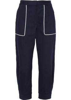 Miu Miu Cotton-blend Twill Pants
