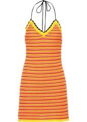 Miu Miu crochet halter dress