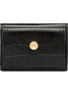 Miu Miu crocodile embossed small wallet