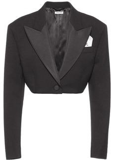 Miu Miu cropped dinner blazer