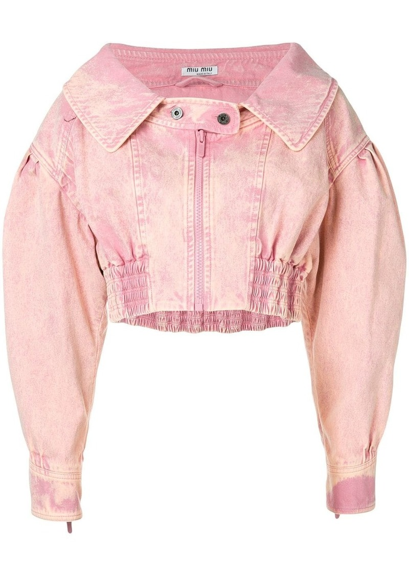 Miu Miu cropped jacket
