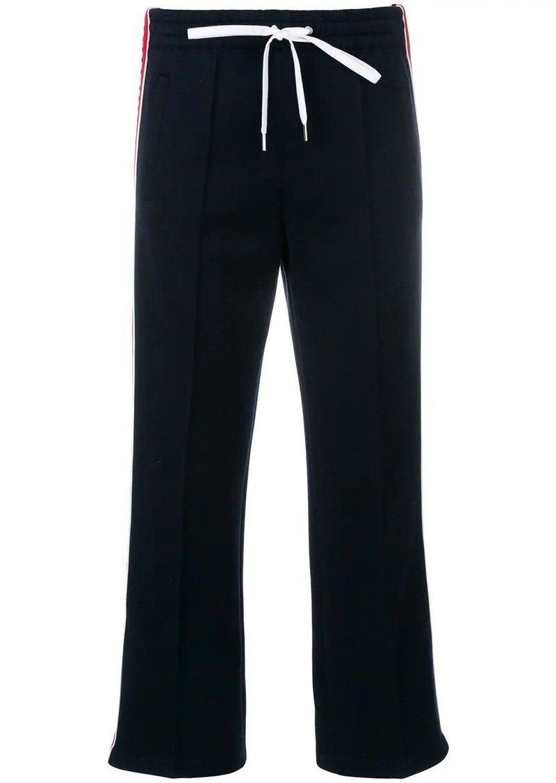 Miu Miu cropped track trousers