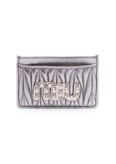Miu Miu Crystal Card Case