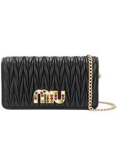 Miu Miu chain wallet bag