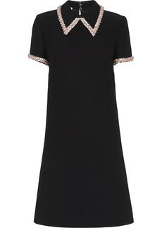 Miu Miu crystal embellished dress