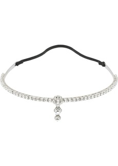 Miu Miu crystal embellished headband