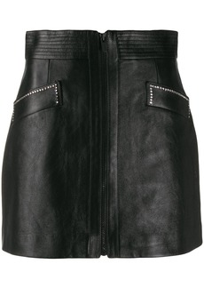 Miu Miu crystal embellished mini skirt