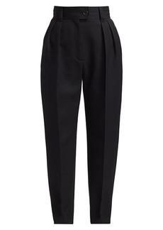Miu Miu Cuffed Virgin Wool Pants