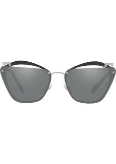 Miu Miu cut out Rasoir sunglasses