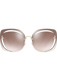 Miu Miu cut out Scenique sunglasses