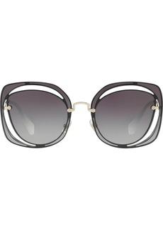 Miu Miu cutout Scenique sunglasses