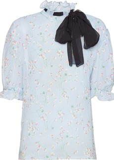 Miu Miu daisy print blouse