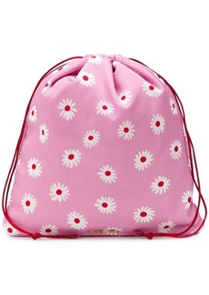 Miu Miu daisy print drawstring purse