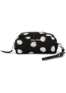 Miu Miu daisy print zipped purse