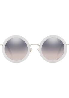 70b9b93a76c91 Miu Miu Miu Miu Délice tortoiseshell acetate oval sunglasses ...