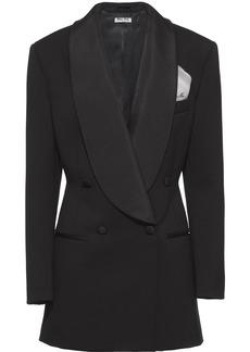 Miu Miu double-breasted grain de poudre jacket