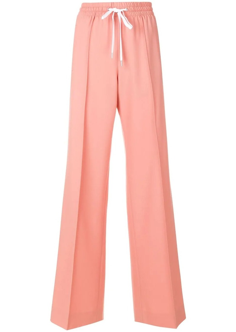 Miu Miu drawstring trousers