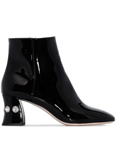 Miu Miu embellished 65mm ankle boots