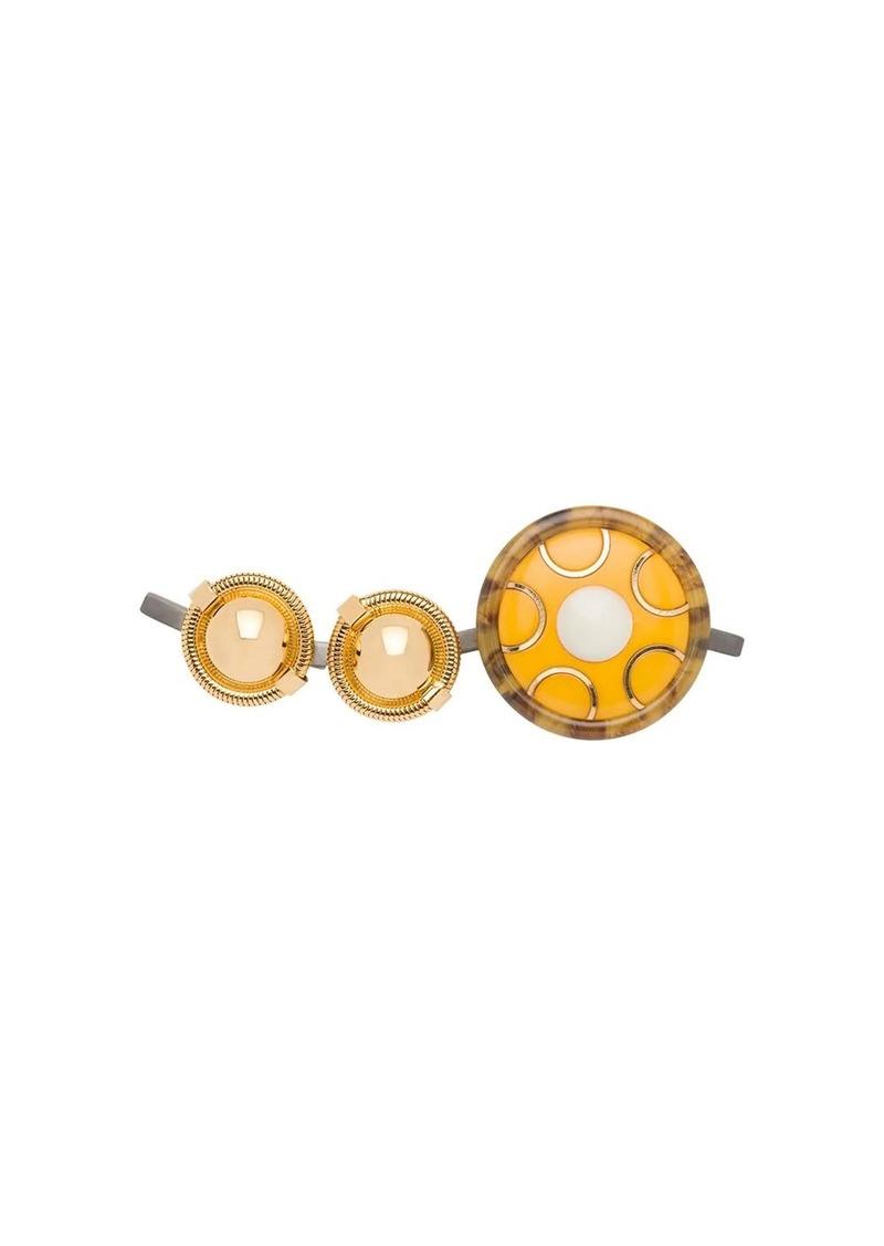 Miu Miu embellished brooch